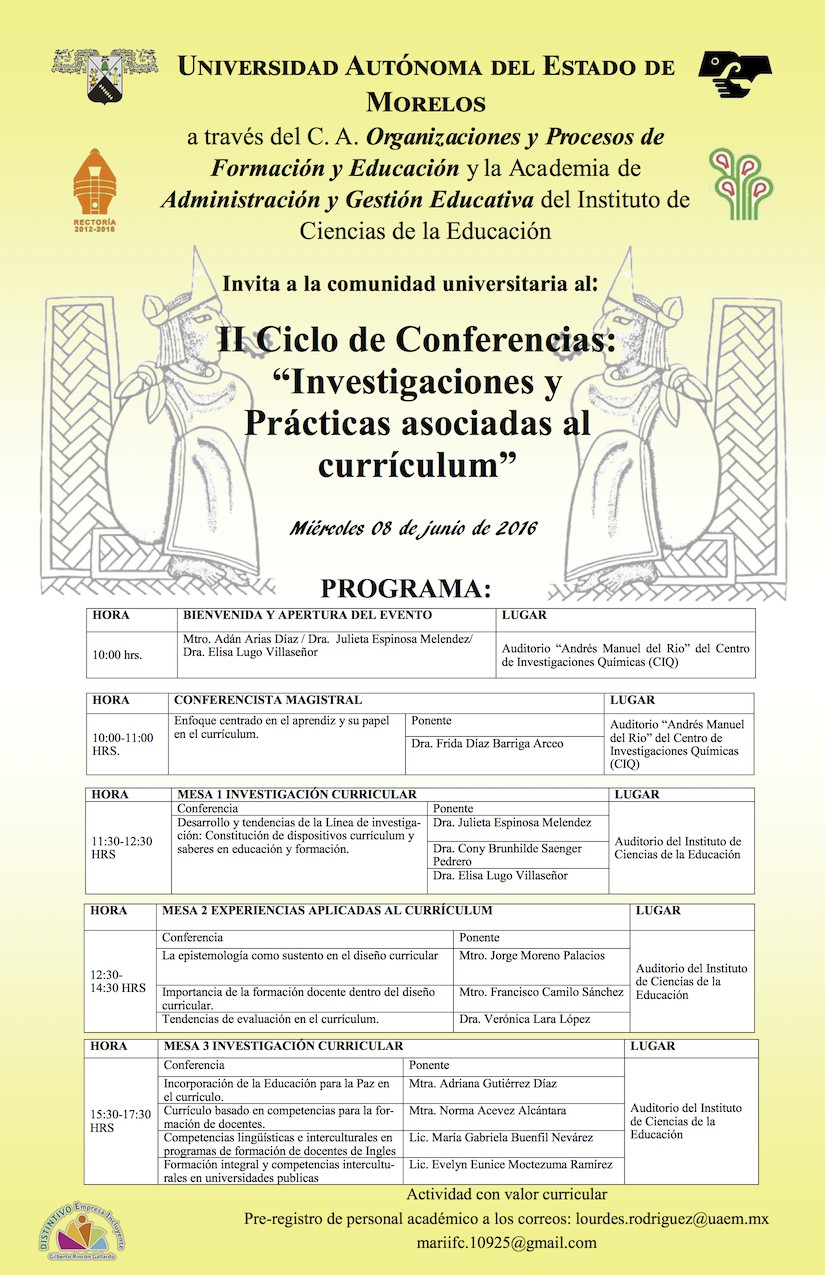 II Ciclo de Conferencias: \