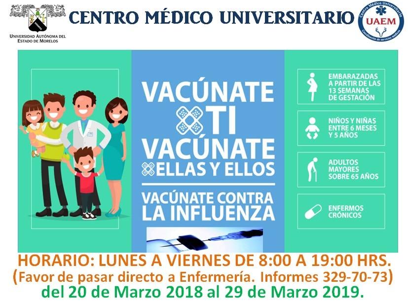 Campaña De Vacunación Contra La Influenza 2018 2019