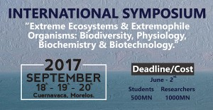 "INTERNATIONAL SYMPOSIUM ""Extreme Ecosystems & Extremophile Organisms: Biodiversity, Physiology, Biochemistry & Biotechnology."""