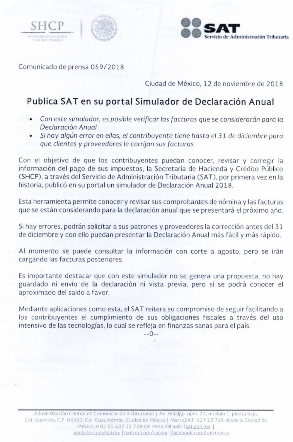 Aviso Sat Universidad Autónoma Del Estado De Morelos