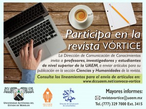 Convocatoria Revista Vórtice