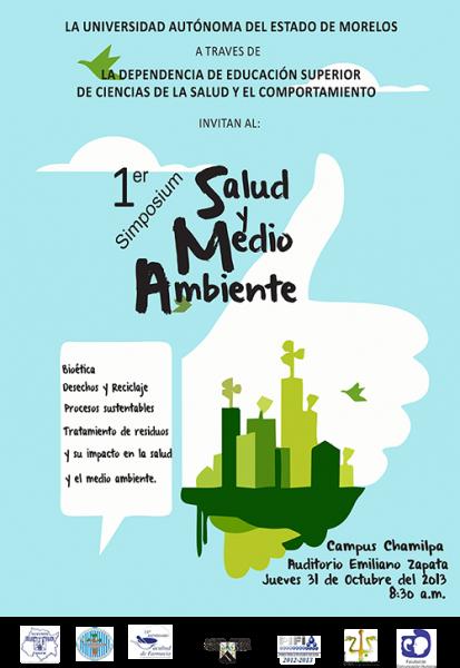 1er Simposium de Salud y Medio Ambiente   Universidad Autónoma del